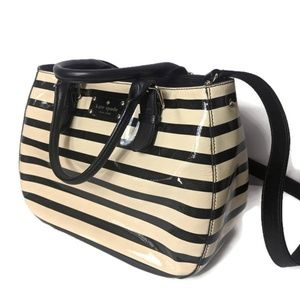 Kate Spade Black and White Satchel